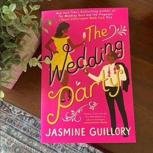 The Wedding Party book by Jasmine Guillory ✨
